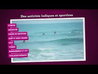 Club de vacances belambra anglet video of belambra clubs for Anglet chambre d amour
