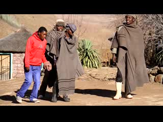 Sani Pass, Sør-Afrika: BASOTHO SHEPHERD DANCE