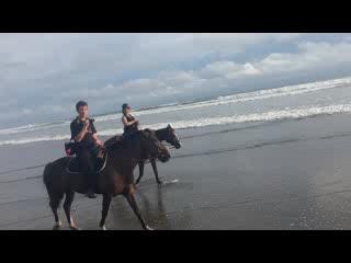 Эстерильос-Эсте, Коста-Рика: Horseback. riding at CR Beach Barn