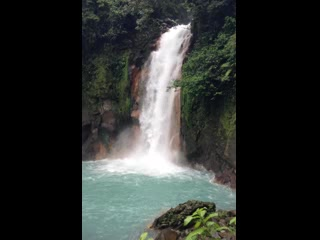 Tenorio Volcano National Park, Costa Rica: Rio Celeste Waterfall