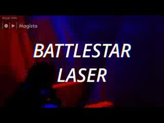 Sutton in Ashfield, UK: Battlestar Laser