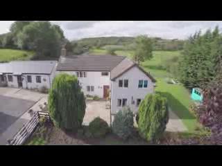 Mold, UK: Glan Llyn Farmhouse From Above
