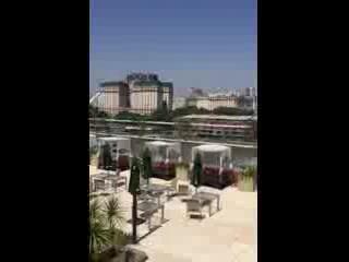 Hilton Buenos Aires, pool