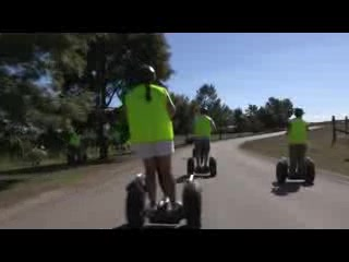 Coldstream, Australia: Segway tour at Rochford Winery