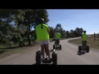 Coldstream, أستراليا: Segway tour at Rochford Winery