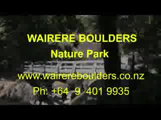 Horeke, New Zealand: Introduction to the Wairere Boulders