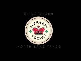 Kings Beach, Kaliforniya: Ferrari's Crown Aerial View