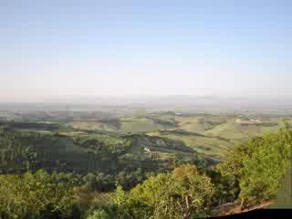 Montefollonico, Italië: Tuscany