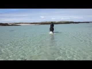 Ballyconneely, Irlandia: Towards Horse Island