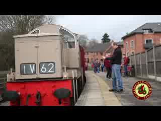 Wirksworth, UK: The Ecclesbourne Valley Railway