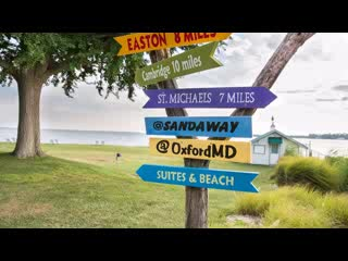 Oxford, MD: Sandaway Waterfront Lodging Suites and Beach