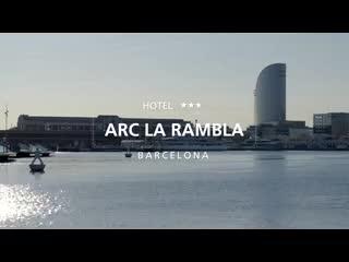 โรงแรมอาร์คลาแรมบลา: Hotel Arc La Rambla