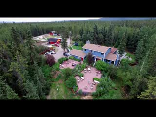 Hidden Valley Bed and Breakfast: Bird's Eye View of Hidden Valley B&B