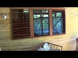 Casa Bambu Resort: Casa Pina dining and living plus ocean view-unedited