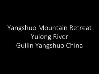 ‪‪Yangshuo Mountain Retreat‬: Yangshuo Mountain Retreat from the Yulong River‬