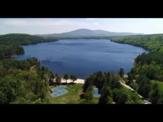 New London, Nueva Hampshire: Take A Tour Of Pleasant Lake!