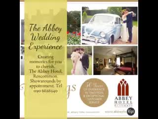 Dream Weddings at the Abbey Hotel Roscommon