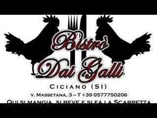 Ciciano, Italia: Trattoria Bistro dai Galli