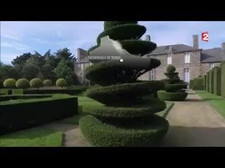 Bazouges-La-Perouse, France: Balade romantique dans les jardins de la Ballue