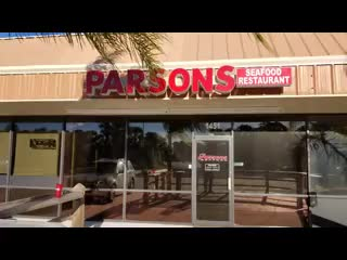 Neptune Beach, Floryda: Parsons Seafood