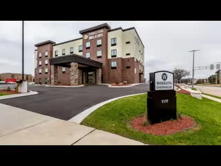 Stevens Point, WI: Cobblestone Hotel & Suites