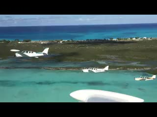 Cape Santa Maria Beach Resort & Villas: Lots of our guests are private pilots - Check out these pilots flying over the Cape and Long Isl