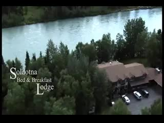Soldotna, AK: Aerial View of Lodge