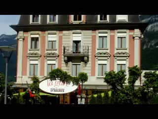 Saint-Maurice, Schweiz: Café Restaurant de la Gare