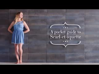 The Scarlet Hotel: Scarletiquette