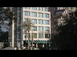Melody Hotel   Tel Aviv - an Atlas Boutique Hotel: Melody Hotel Video