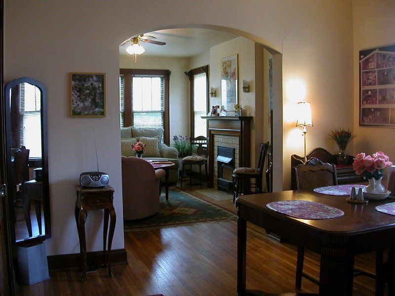 Charming 1 BR Apt in Clintonville, holiday rental in Delaware