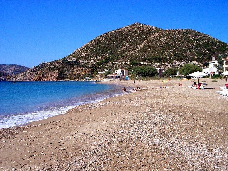 Beachfront Villa, Komi, Greece, aluguéis de temporada em Vessa