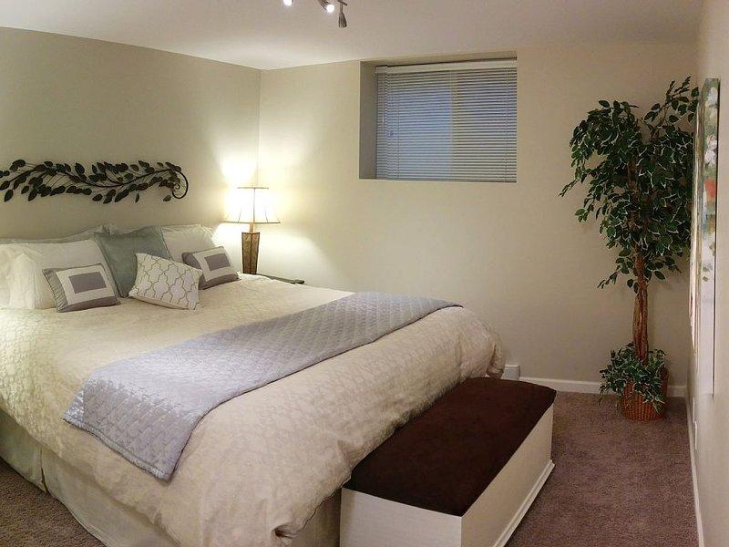 New Serta Perfect Sleeper pillowtop mattress with a Goose Down duvet