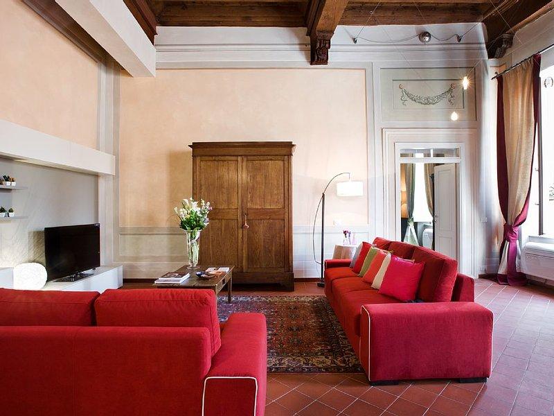 Orsucci Gorgeous romantic Apt in Lucca historical center FREE WIFI ,AIR C, casa vacanza a San Pietro in Campo