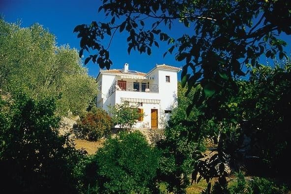 Aphroula's House - before the trees grew up