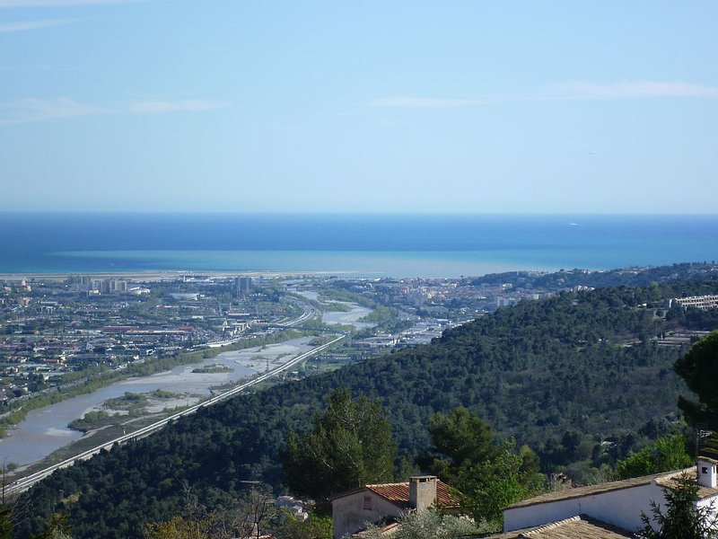 180 ° sea view