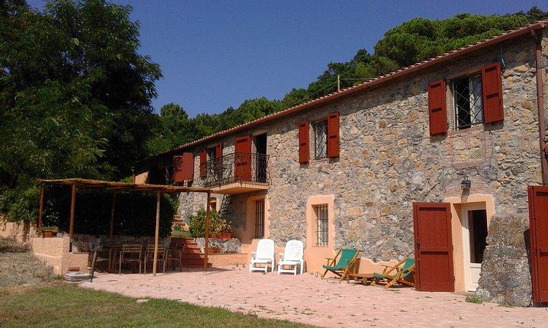 Casale 'La Ciliegiola' - appartamento 2, holiday rental in Riparbella