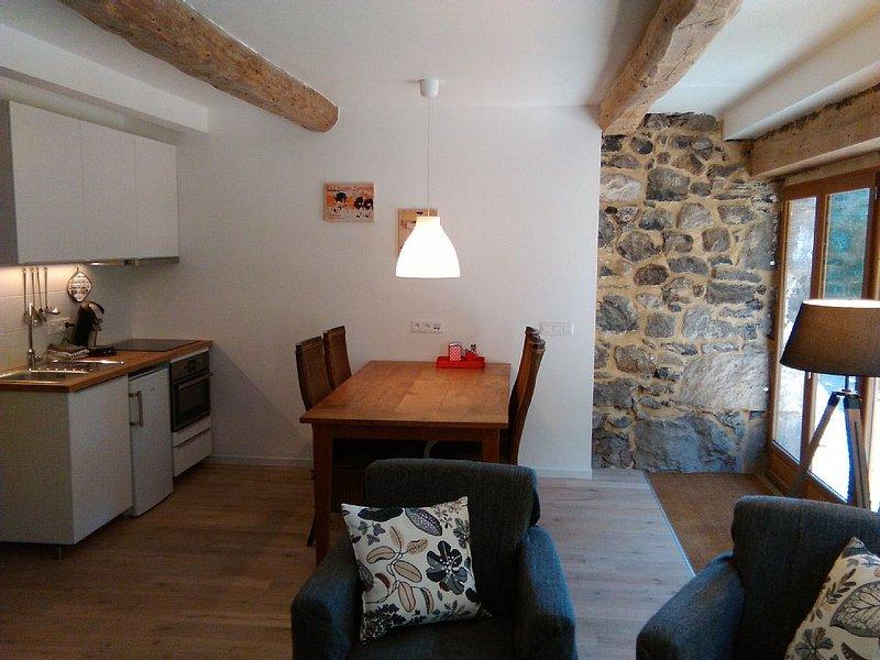 Gite MUROL - Atelier de Charpentier - zicht op kasteel - mooie tuin, casa vacanza a Saint-Nectaire