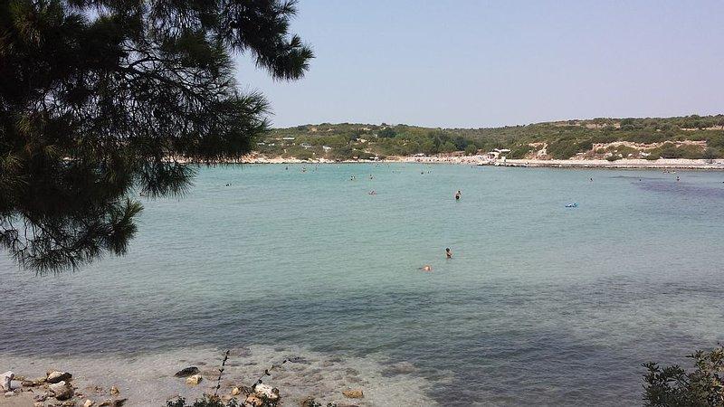 Marti Beach - 20 minutes walk from the villa.