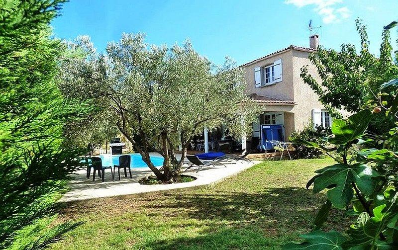 Belle villa d'architecte Marseillan, location de vacances à Marseillan