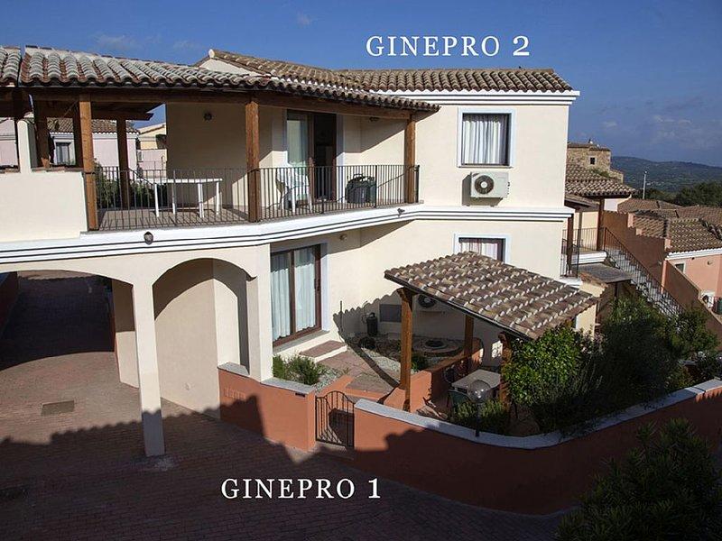 Bellissimo appartamento per 4 persone con giardino in Gallura (Sardegna Nord), holiday rental in Bassacutena