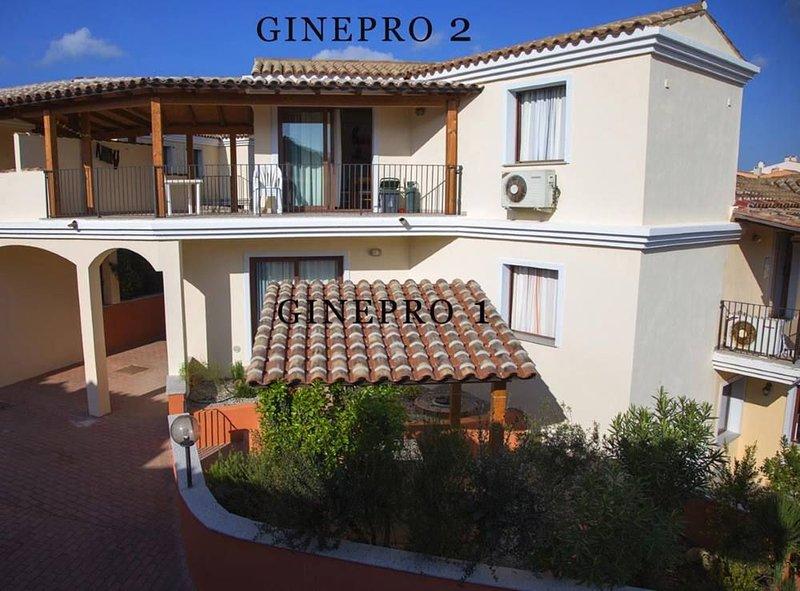 Splendido bilocale 4 persone con grande terrazzo coperto (Nord Sardegna), vacation rental in San Pasquale