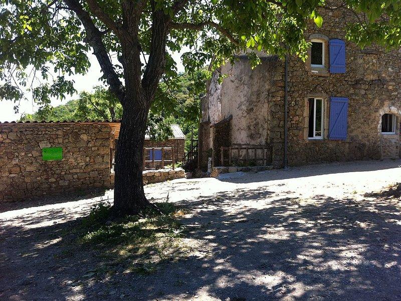 Gîte Cévenol en pleine nature proche d' Anduze, et de la bambouseraie, location de vacances à Monoblet