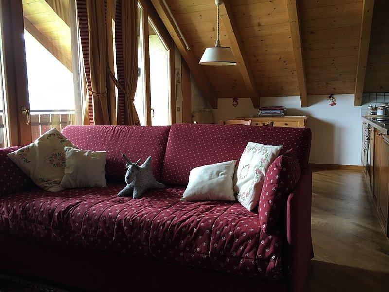 Casa vacanza con vista mozzafiato, aluguéis de temporada em Province of Sondrio