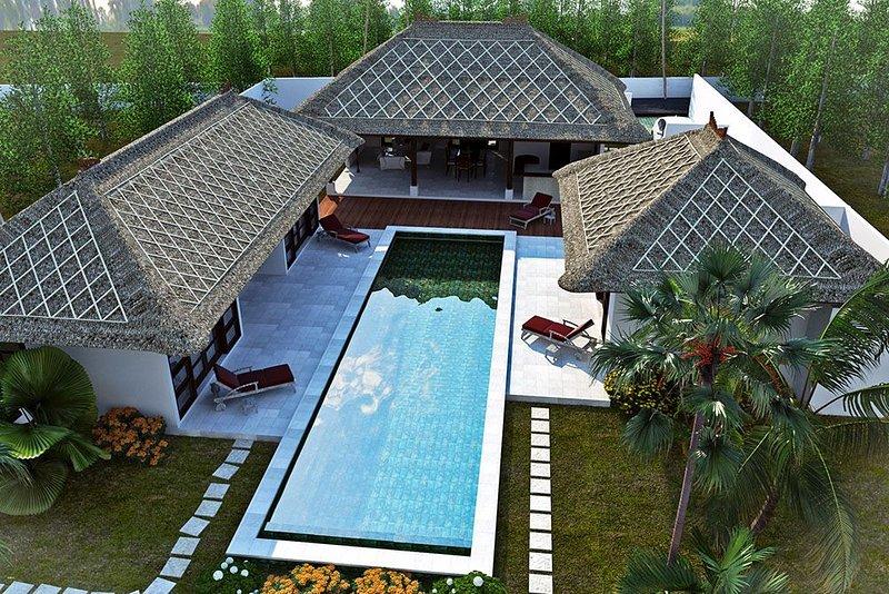 Villa 240m2 ,bassin de nage 16m x 4m,jardin clos 900m2