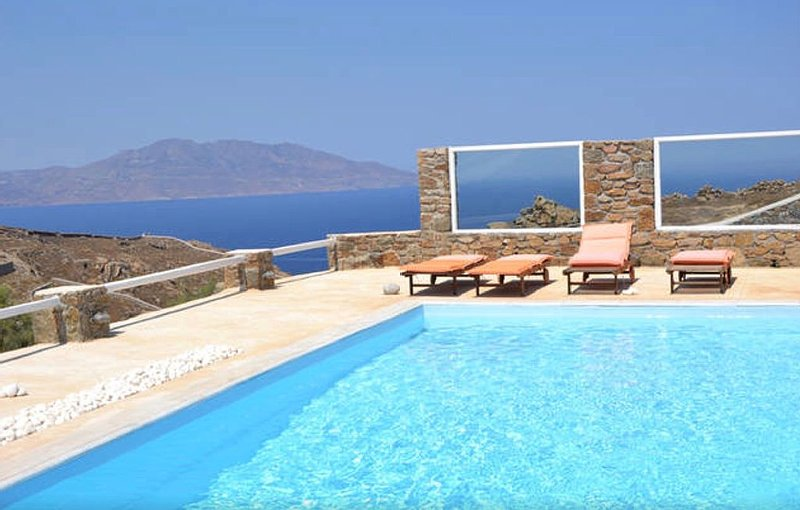 ' Il Melograno' nido d'amore con vista romantica sul mare, Tinos e il Faro, location de vacances à Mykonos