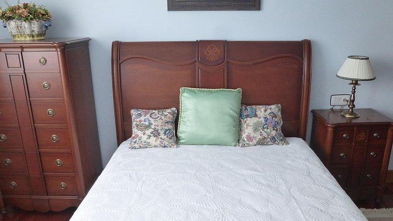 Habitación, cama doble