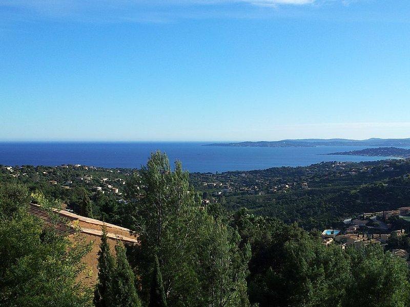 Beau T3 avec magnifique vue mer, holiday rental in Les Issambres
