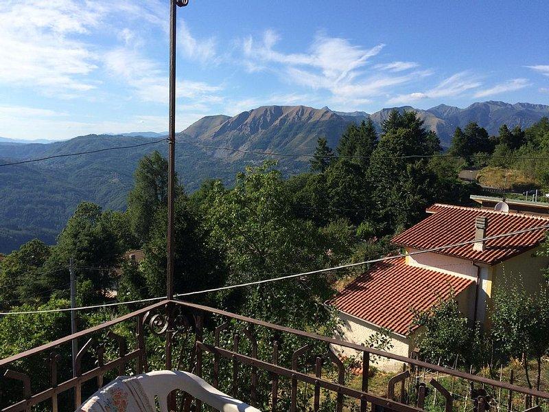 Villetta sulle montagne lucchesi, vacation rental in Bagni di Lucca