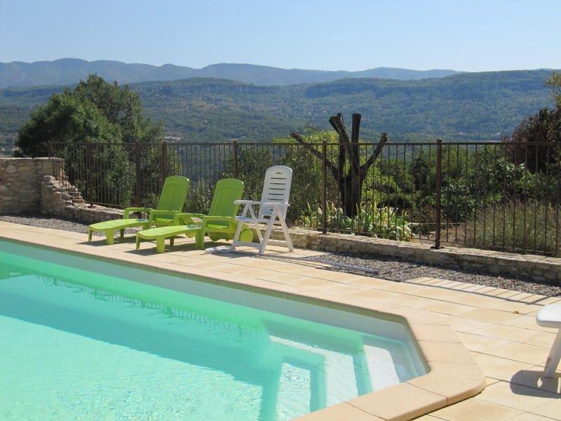 Studio en campagne avec piscine, alquiler de vacaciones en Apt
